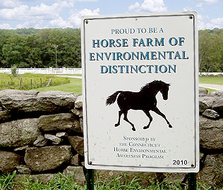 Horse Farm of Environmental Distinction